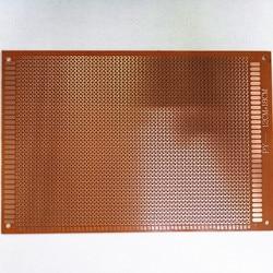 5pcs 12x18 12*18cm Single Side Prototype PCB Universal Board Experimental Bakelite Copper Plate Circuirt Board yellow