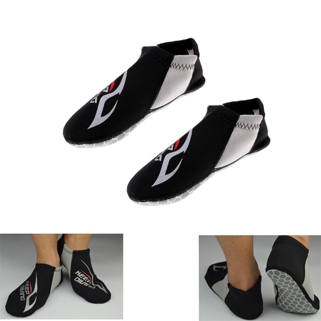 UK Womens Men Water Shoes Socks Diving Socks Wetsuits Ladies Non-slip Swim Beach