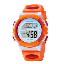 2020 Kids Sport Watches Waterproof Outdoor Colorful Luminous Led Digital Children Wristwatch For Boys Kids Gift Clock reloj niño(China)