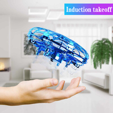 Mini Flying Helicopter UFO RC Drone Hand Sensing Aircraft Electronic Model Quadc