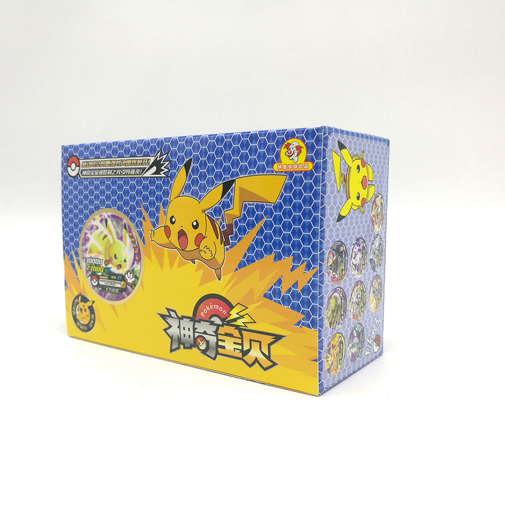 TAKARA TOMY 288pcs Shining Pokemon Cards Collections Pikachu Flash Card 12pcs/box 24box/set Board Game For Kids Christmas Gifts