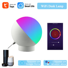 Smart Desk Lamp Tuya APP Wireless Control WiFi Light Smart Light Switch WiFi Dimmable Alexa Google Home Compatible