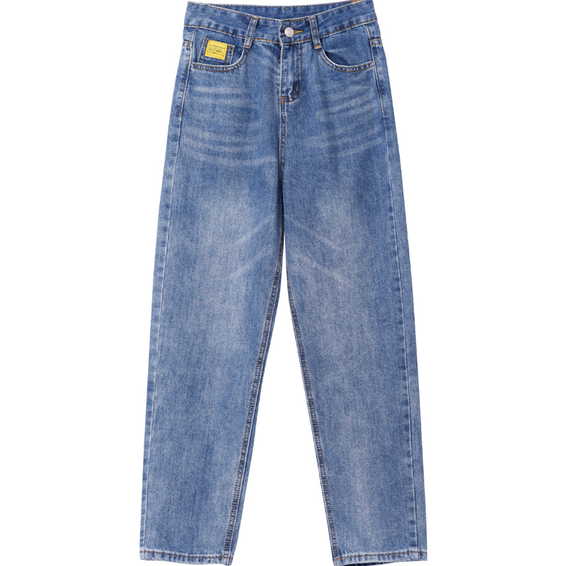 Zsrs jeans woman mom jeans pants boyfriend jeans for women with high waist push up large