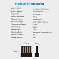 USB Bluetooth Wireless Adapters BT 5.0 USB  5