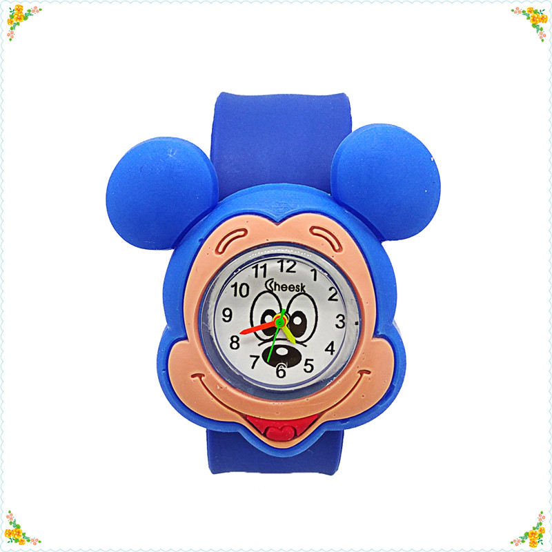 Dropshiping New Cartoon Anime Minnie Watch Children Quartz Clock Child Baby Mickey Kids Watches For Baby Boys Girls Gift Relojes