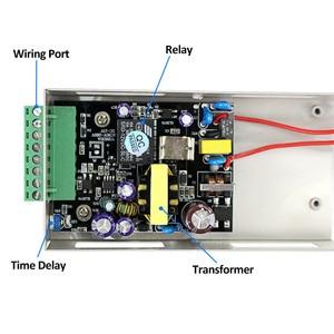 Image 3 - 5A المعادن نظام التحكم في الوصول امدادات الطاقة التبديل DC12V/3A AC90V 260V المدخلات NO/NC تأخير الوقت لجميع أنواع قفل إلكتروني K80