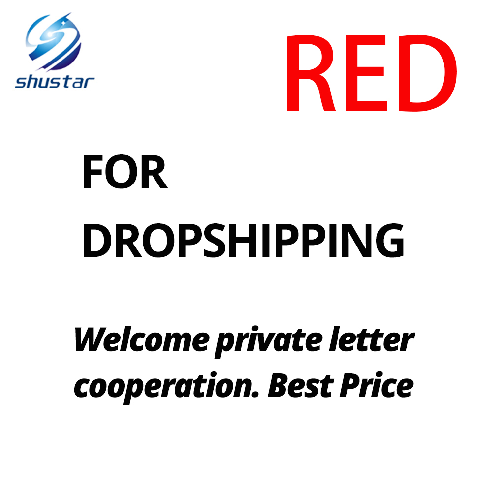 FOR Dropshipping .Welcome Private Letter Cooperation. Best Price-Thiago-RED