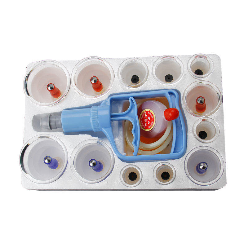 Chinesische Medizinische Vakuum Dosen 12 teile/satz Körper Schröpfen Set Therapie Tassen Zurück Massage Entspannung Anti-cellulite Messager Gesundheit Pflege
