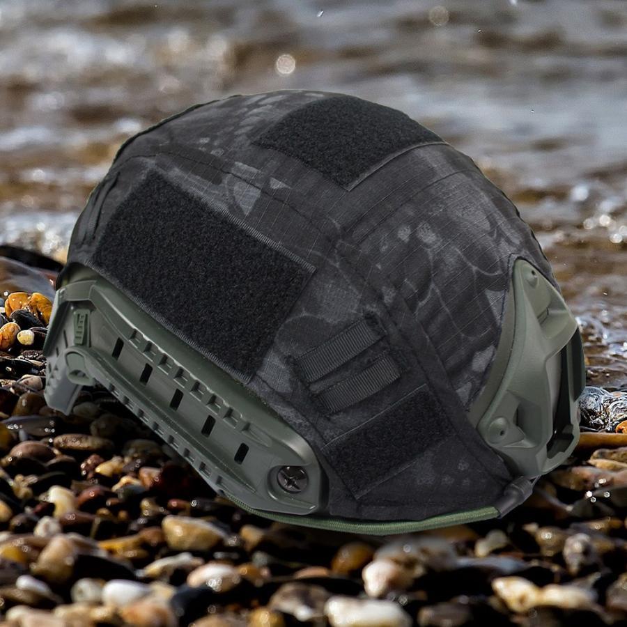 1 шт., 2 цвета, чехол для быстрого шлема для охоты, пейнтбола, боевого камуфляжа, чехол для быстрого шлема, аксессуары для охоты - Цвет: 2