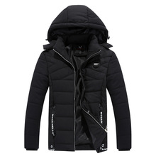 Men New Arrivals Jackets Jacket Casual Cotton Thick s Wild Fashion Hooded Coat Winter Parka Clothing