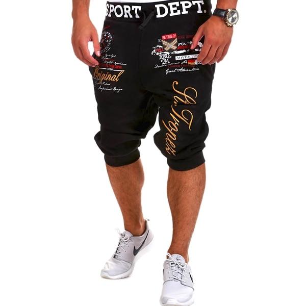 Calças Curtas Shorts de Algodão Calças Curtas