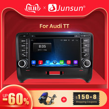 Junsun 4G + 64G 2 DIN Car DVD Automotivo GPS para Audi TT MK2 8J 2006, 2007, 2008, 2009, 2010, 2011, 2012 coche Multimedia reproductor de Radio(China)