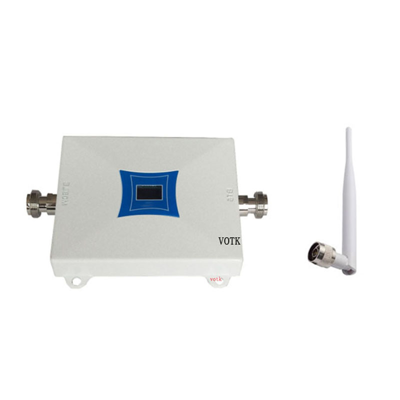 2018 NEW VOTK 4G  Signal Booster  Mobile Phone 4G Signal Repeater High Gain 1800mhz LTE Signal Amplifier WITH INDOOR ANTENNA