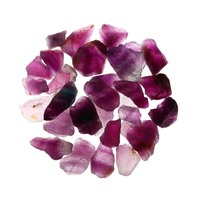Natural Purple Fluorite DIY Jewelry Raw Materials Crystal Ore For Necklace Bracelet Stones Decoration Crafts