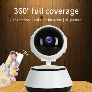 Home Security IP Camera Wireless Smart WiFi Camera WI-FI Audio Record Surveillance Baby Monitor HD Mini CCTV Camera hiseeu hd ip camera wireless video surveillance camera indoor mini wifi camera cctv camera wi fi home security baby monitor fh2a