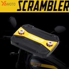 NEW Fashion Accessories Fits For DUCATI Scrambler 400 800 Sixty2 Mach 2.0 Motorcycles Gold Front Brake Fluid Reservoir Cap Cover