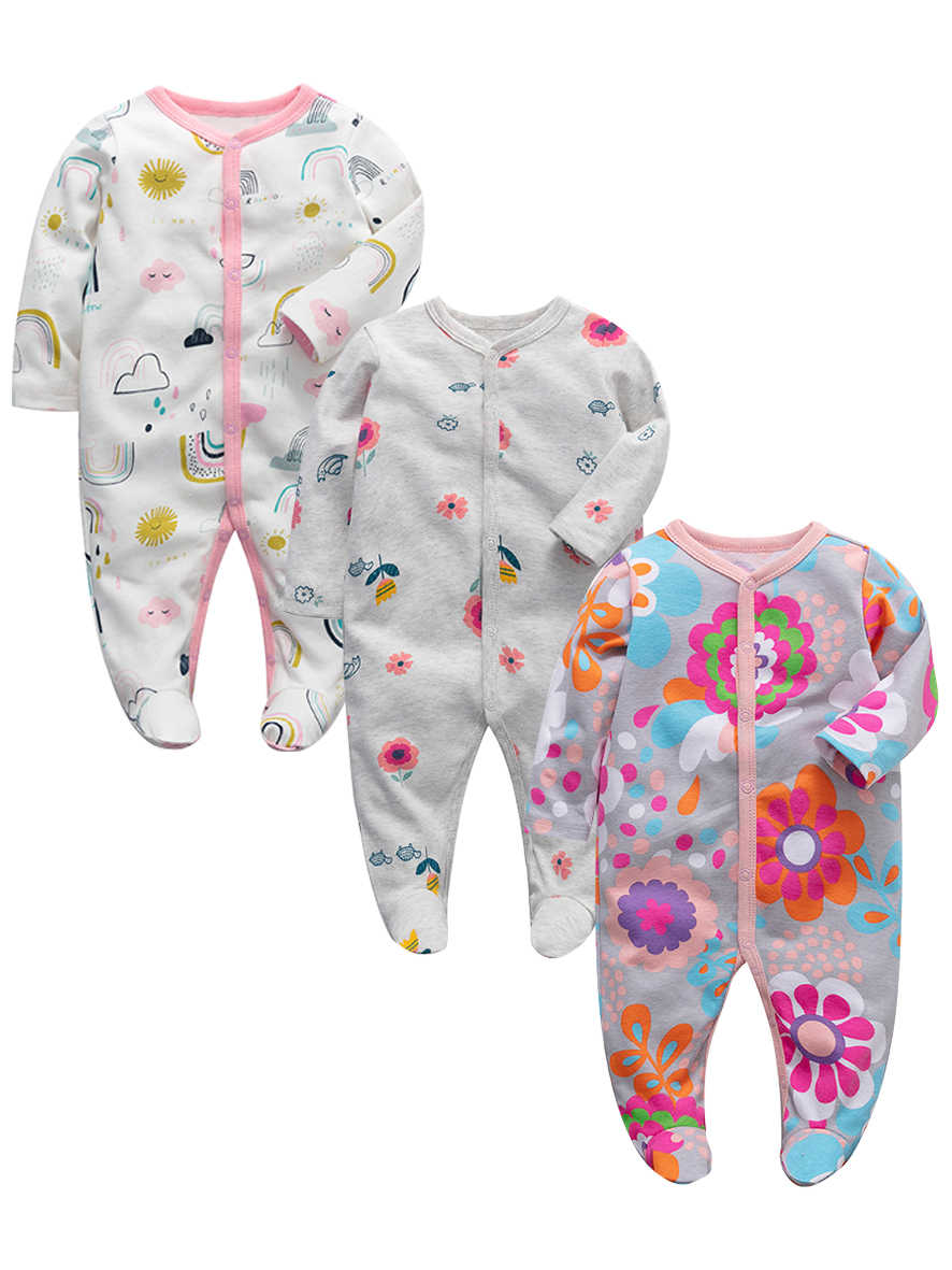 Lots of Girl/'s Size 12M Months 9-12 One Piece Footed Pajama Sleeper Outfit