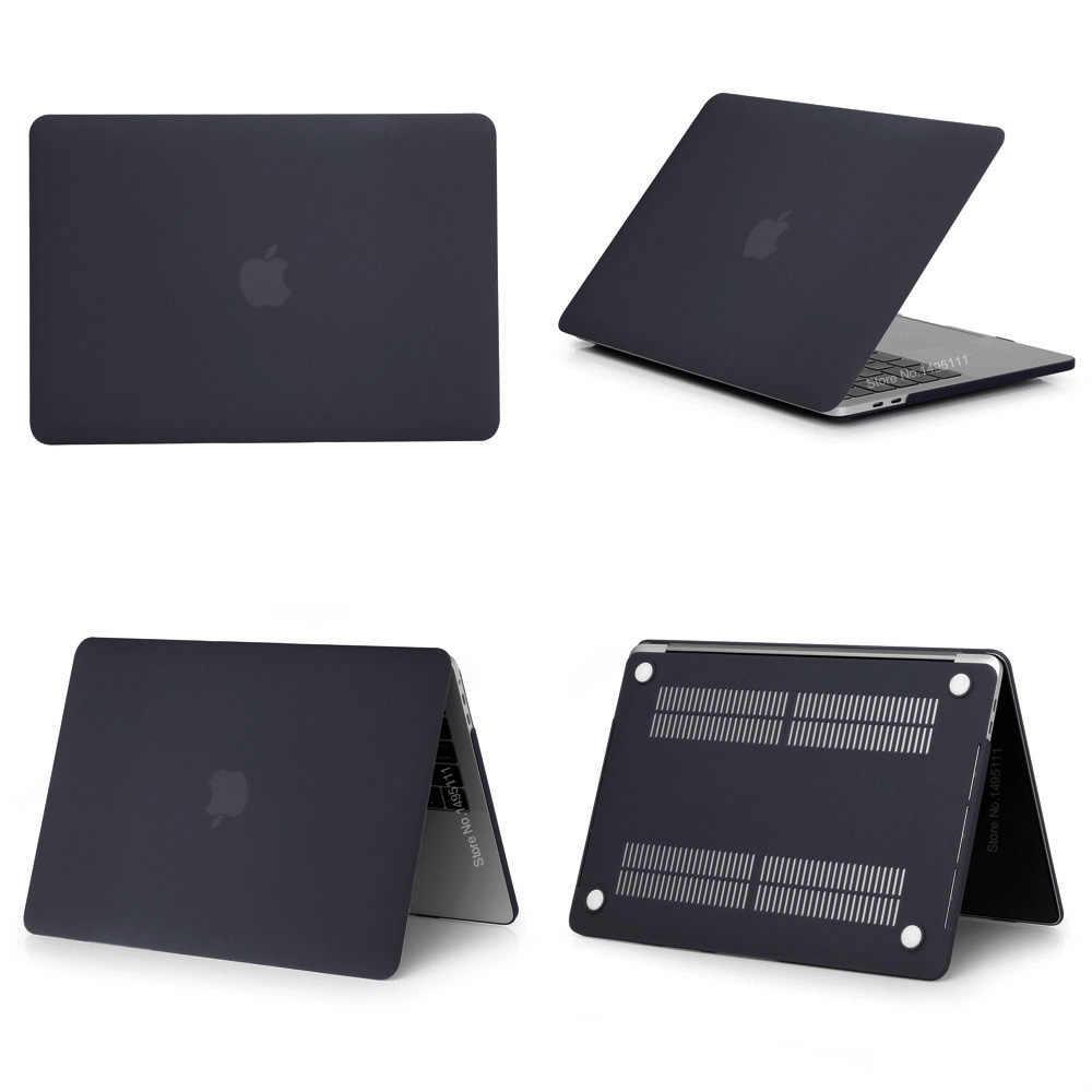 2019 Новый чехол для ноутбука Apple MacBook Air Pro retina 11 12 13 15 дюймов для 13,3 A1706 mac book Pro с сенсорной панелью + крышка клавиатуры