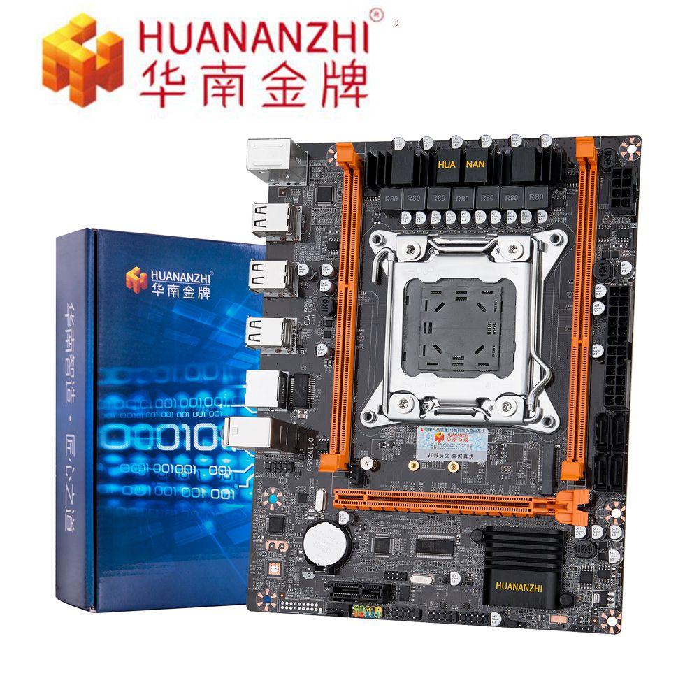 HUANANZHI X79 4M Desktop Motherboard LGA 2011 USB2.0 SATA2 Support REG ECC Memory And Xeon E5 Processor PC Boards On Sales