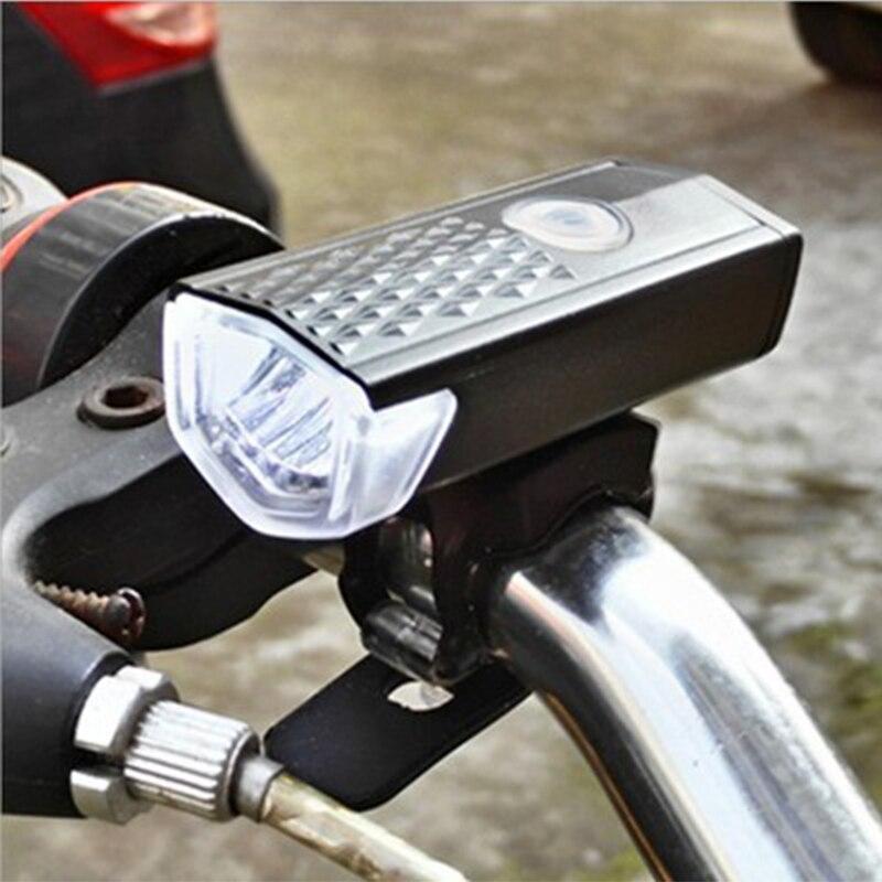 USB Charging High-lighting Lights Mountain Bike Lights Car Headlights Night Riding Bicycle Riding Essential Equipment
