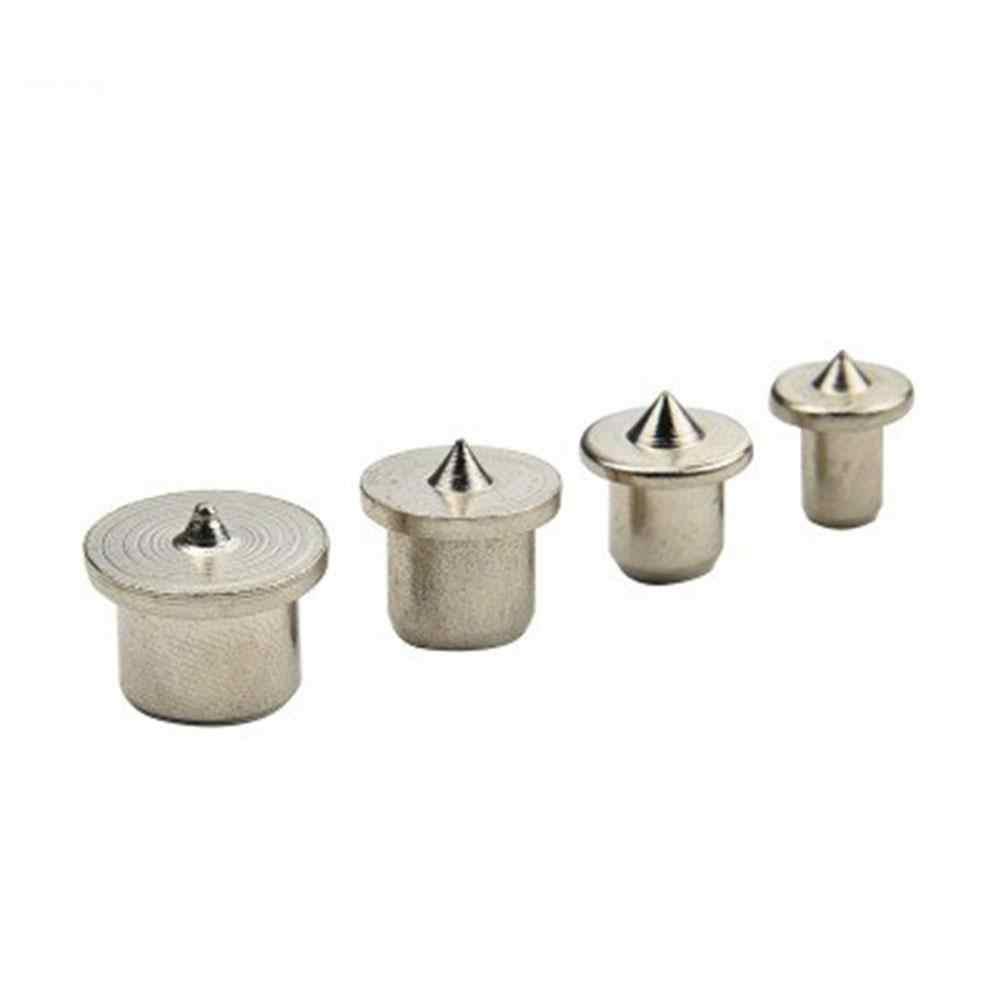 6/8/10/12 มม.4 Pcs ชุดไม้เครื่องมือชุดที่ปลายเซ็นเตอร์แบบ Dowel Center Dowel Tenon center Transfer ปลั๊กไม้อุปกรณ์เสริม Drill Power