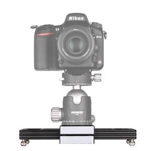 "Image 2 - Kolivar スライダー 9 ""/23 センチメートルミニ調整可能な減衰カメラトラックレールド一眼レフカメラ用スマートフォン DV 移動プロビデオ映画"