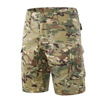 ESDY men army tactical military man combat large Multi pocket shorts pants outdoor Hunting Camping quick dry male short trousers