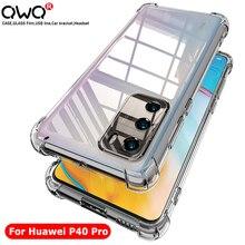 mobiele telefoon accessoires luxury clear bag Shockproof Case Voor Huawei P30 P20 P10 Mate 10 20 30 Lite P40 Pro Y5 Y6 Y7 Y9 Prime 2019 honor 9 10 20 Pro 8X 9X X10 Back Cover telefoon hoesjes