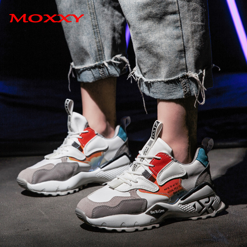 2019 New Designer Chunky Sneakers Women Running Brand Street Fashion Women Sneakers Platform Casual Shoes Woman Basket Femme