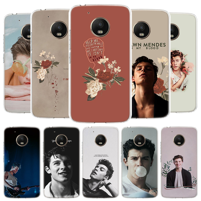 Singer Shawn Mendes 98 Cover Phone Case For Motorola Moto G8 G7 G6 G5S G5 E4 Plus G4 E5 E6 Play Power One Action EU Gift Shell