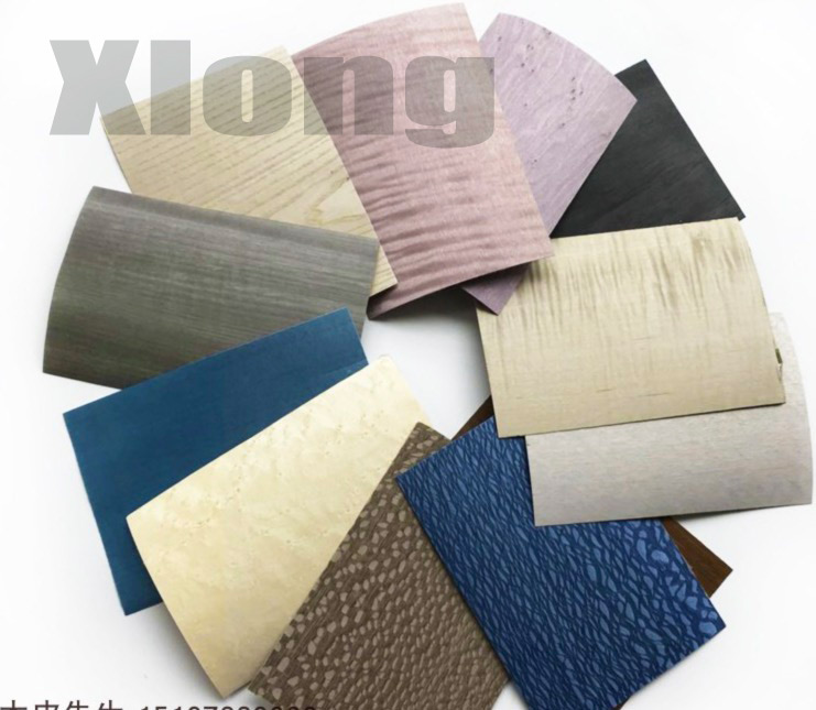 48pcs/set (difference) Dyed Veneer Specimen 2019 New Edition Home Furnishing High-end Wooden Skin