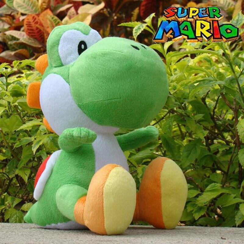 30cm Yoshi Plush Toys Green Yoshi Stuffed Toys Super Mario Yoshi Plush Toys Stuffed Dolls For All Collection Of Game Lovers