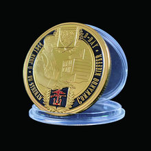 1944.6.6 D-Day Gold Coin 6th Airborne Division Normandie Landing For Collect