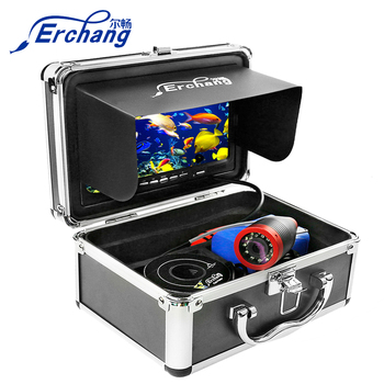 Erchang 15M 1000TVL Fishing camera Underwater Fish Finder 12pcs Infrared Lamp + White Camera For Ice/sea - discount item  40% OFF Fishing