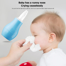 Baby Nasal Aspirators Nose Hygienic Silicone Infant Manual Safe Safety-Snot-Remover