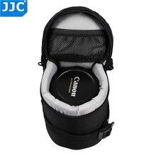 JJC DLP 1 pokrowiec obiektywu Nylon Deluxe wodoodporny torba ochronna dla Nikon AF S Nikkor 50mm 1:1. 8G/Fujifilm XF 23mm f/1.4 R