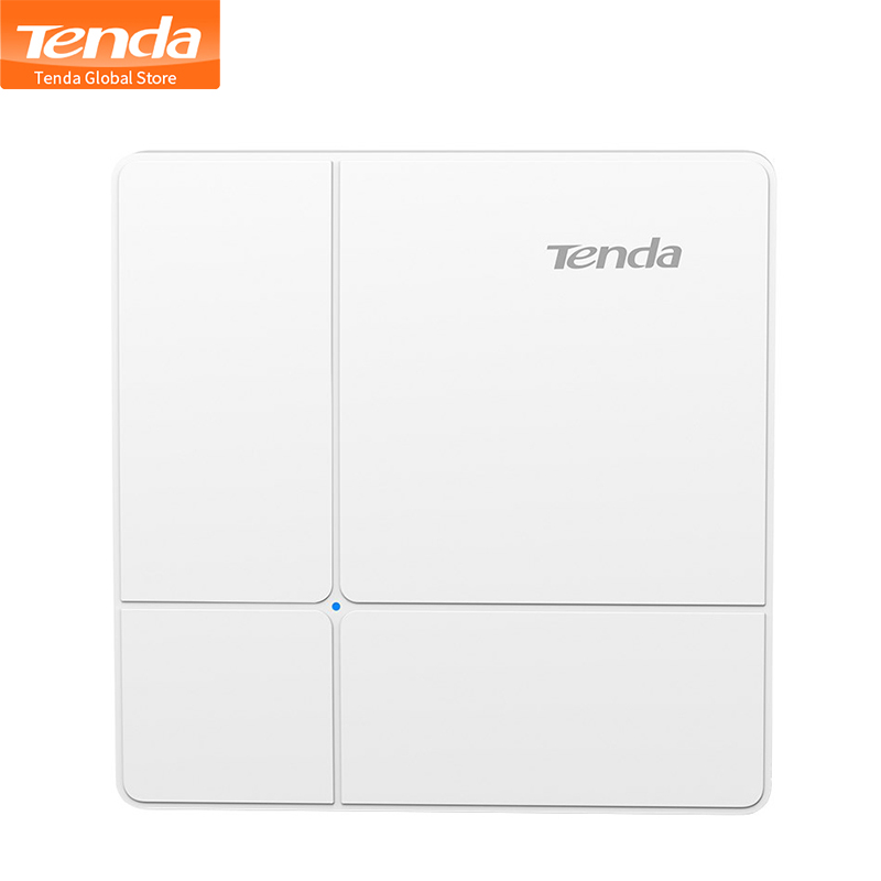 Tenda I24 Wireless AP POE Gigabit Dual-Band AC1200 Wave 2 Gigabit Access Point Wifi Client-AP Up To 500m Coverage/100 Stations