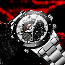 KADEMAN Men Watch Top Luxury Brand 5 Color Big Dial Sport Watches Mens Chronograph Quartz Wristwatch Stainless Steel Male Clock