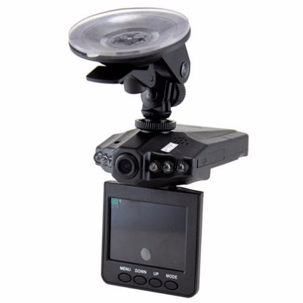 Recorder Dash-Cam Car-Detector-Camera Night-View LCD with Motion-Detection 6-Leds DVR title=