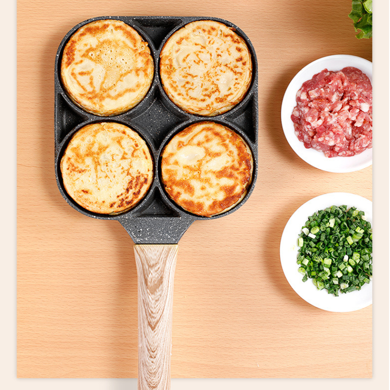 New Four-Hole Non-Stick Omelet Pan 3