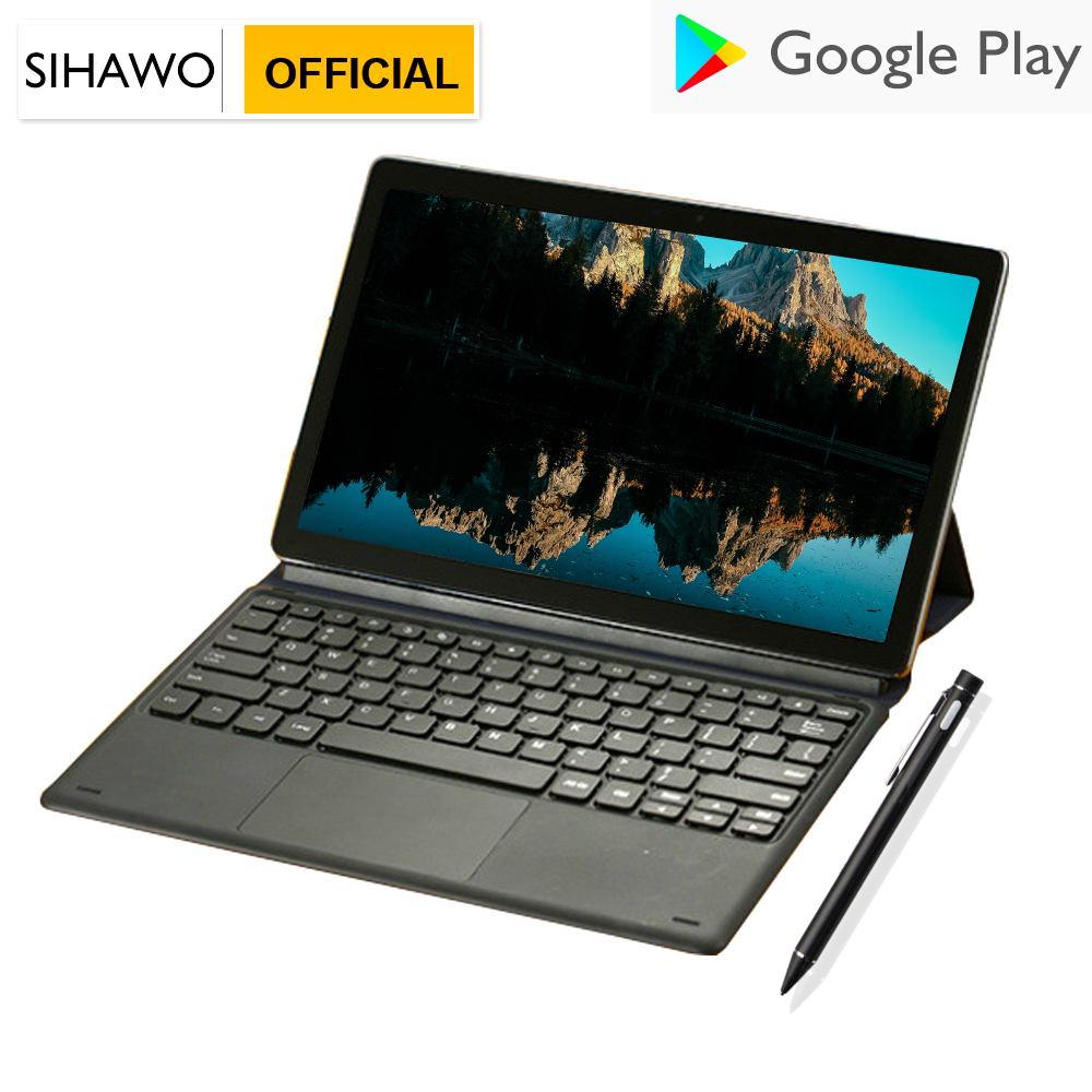 11.6 Inch Helio X27 Deca Core Android 8.0 8GB RAM 128G ROM Tablet PC Dual SIM 4G LTE Phone Call Bluetooth The Ultra Slim Tablets