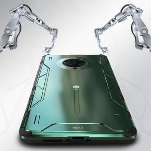 Image 2 - Volle Schutz Stoßfest Aluminium Metall & Hybrid Silikon Fall Für VIVO NEX 3/ 5G Luxus Harte Rückseitige Abdeckung fall Für VIVO NEX3 5G