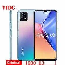 Orijinal iQOO U3 5G Smartphone Celular MTK 800U 90Hz pil 18W 48.0MP çift kameralar 6.58 inç android 10 5000mAh cep telefonu