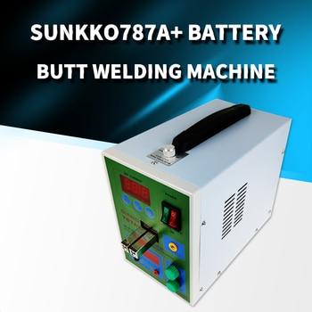 Sunkko 787A+ Battery butt welding machine double pulse small 18650 battery spot welding machine button battery welding machine sunkko 787a micro computer spot welding