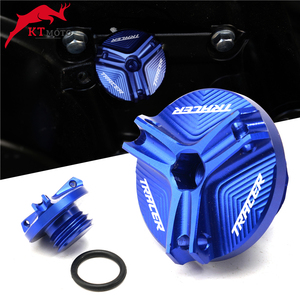 For YAMAHA TRACER 900 GT MT09 MT-09 M20*2.5 Motorcycle Oil Drain Sump Plug Aluminum Engine Filler Tank Cap Cover Racing Bolts