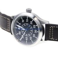 Sapphire Glass German Style Fieger Type A Automatic Pilot Watch NH35 Enamel Dial B UHR Heated BGW9 Luminous Diver Watch 300M