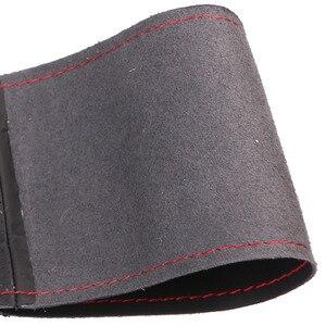Image 3 - Volante de carro em couro artificial, trança para honda civic old civic 2006 2011/personalizada capa de proteção