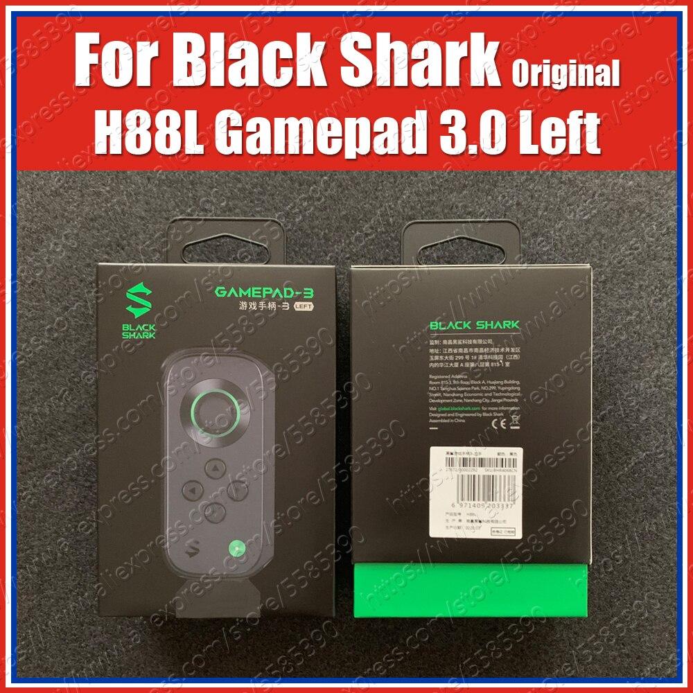 H88L 3rd Black Shark 3 Pro Gamepad 3.0 Left Side Joypad Bluetooth Joystick BR20 Cooler Fan BC38 Gaming Case BM01 Magnetic Cable