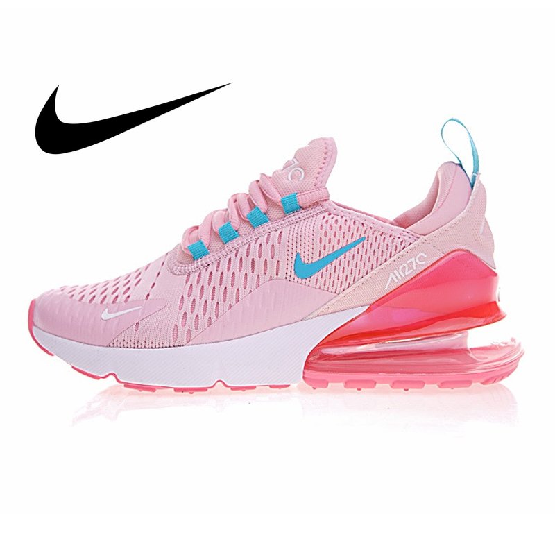 Original Authentic Nike AIR MAX 270 Women's Running Shoes Low Top Comfortable Non-slip Fashion Mesh Breathable Sneakers AH6789