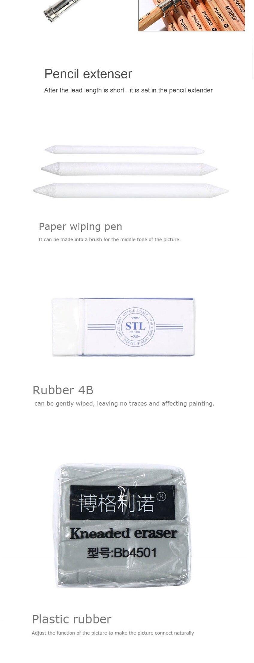 completo de esboço caneta arte suprimentos